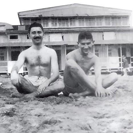 kafka-en-el-balneario-de-marielyst-con-su-amigo-ernst-weiss-1913
