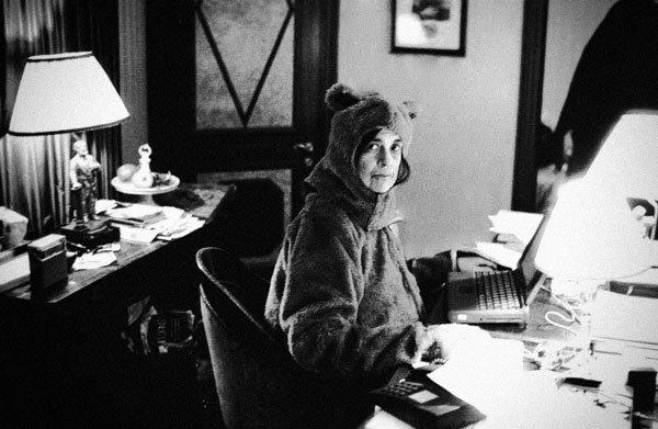 Susan Sontag disfrazada